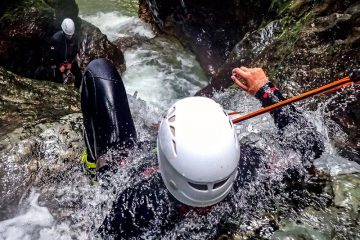 Canyoning Slowenien