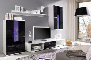 Schöne und funktionale Stücke des Wohnzimmer-Möbels