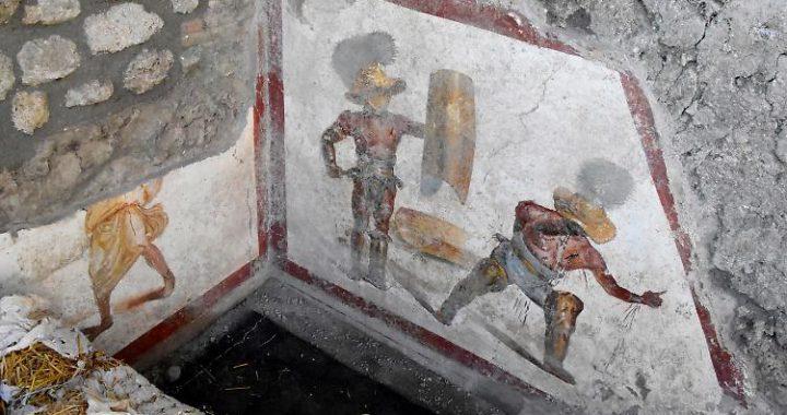 Im Keller eines Bordells: Detailreiches Fresko in Pompeji gefunden