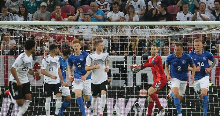 So läuft's in Tallinn: Löw will's seriös, Neuer hat den DFB-Plan