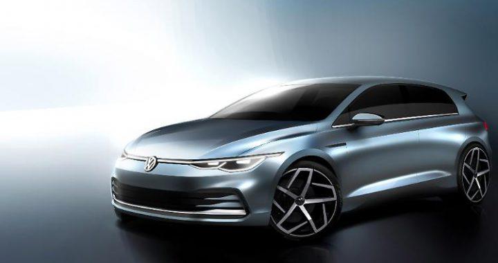 Sondermodell zum Abschied: VW zeigt erste Skizze des neuen Golf 8