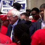 Video: US-Demokrat Sanders unterbricht Wahlkampf