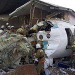Gegen Wohnhaus geprallt: Passagierflugzeug stürzt in Kasachstan ab