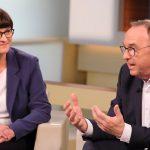 Neues SPD-Duo im Polit-Talk: Deutschland, jetzt wird's noch zäher