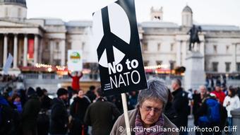 Spannungen beim Nato-Geburtstag