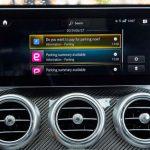 Mercedes me: neuer Bezahlservice beim Parken Parkgebühren direkt im Auto bezahlen