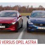 Opel Astra vs. Mazda3: Test Kann der Astra mit Dreizylinder punkten?