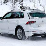 VW Tiguan R (2020): Erlkönig, neue Bilder, Motor Neue Bilder vom Tiguan R