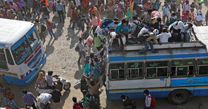 Corona in Indien: Die Not der Wanderarbeiter