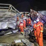 Coronavirus: Hotel diente als Quarantäne-Station: Rund 70 Menschen nach Einsturz in China verschüttet