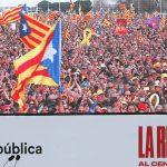 Separatisten-Demo in Frankreich: Über 100.000 Anhänger bejubeln Puigdemont