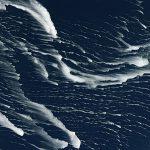 Südlich des Polarkreises: Eisstreifen vor Hokkaido