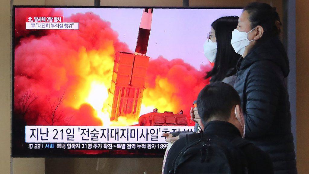 Nordkorea Test