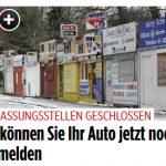 Wegen Corona: Kfz-Zulassungsstellen geschlossen (BILDplus) So können Sie noch Ihr Auto zulassen