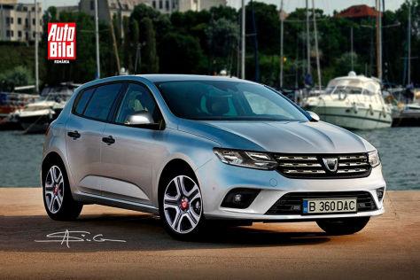 Dacia Sandero (2020): Marktstart und neue Bilder So könnte der neue Sandero aussehen