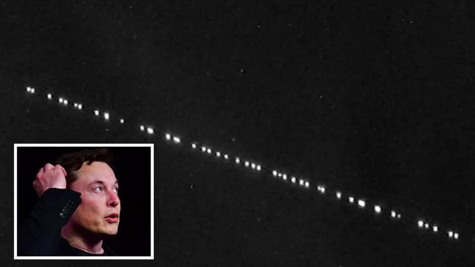 Spacex Satelliten Heute