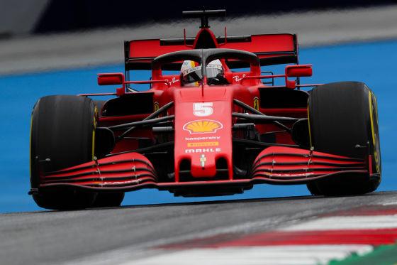 Formel 1: Bilder aus Österreich Hamilton mit Anti-Rassismus-Helm