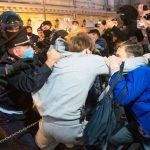 Moskau in Russland: Mehr als hundert Menschen bei Anti-Kreml-Protest festgenommen