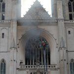 Nantes: Feuer in der Kathedrale von Nantes