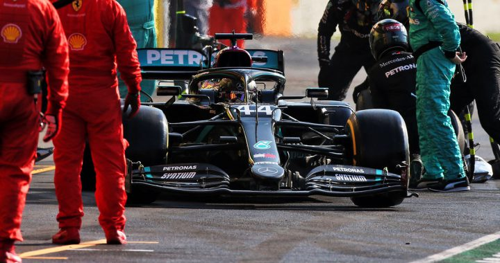 Hamilton bleibt cool im Mugello-Chaos: Reifen ließen Mercedes zittern