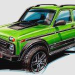 Lada 4x4 - Lada 50th Anniversary Limited Edition: Spezial-Russe