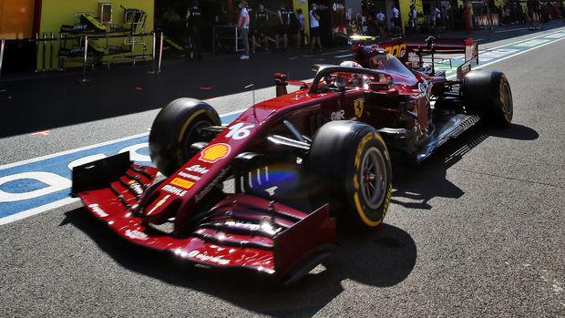 Leclerc rettet Ferrari-Ehre: Vettel auf Kriegsfuß mit zwei Kurven