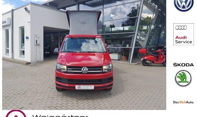 VW T6 California Beach: gebraucht, Preis, kaufen Ein gepflegter VW T6 California unter 40.000 Euro