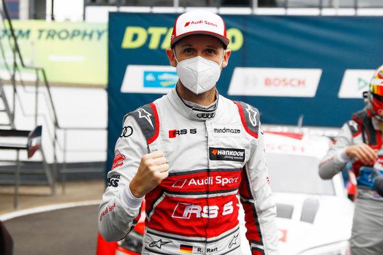 DTM: dritter Sieg für Rast René rast an die Tabellenführung