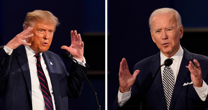 """Neue Regeln beim TV-Duell: """"Zum Vorteil der Zuschauer"""": Trump und Biden werden die Mikros abgedreht"""