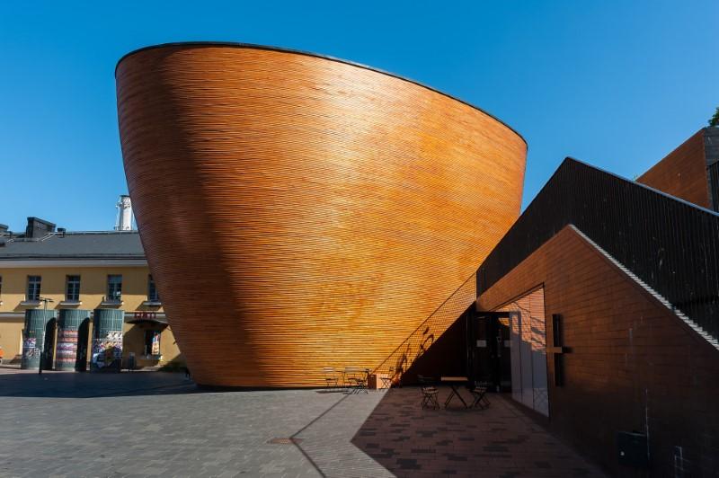 Helsinki - Kapelle der Stille in Kamppi