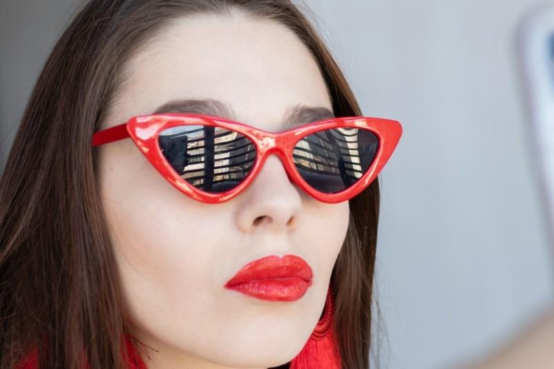Sonnenbrillen für Diamantgesicht